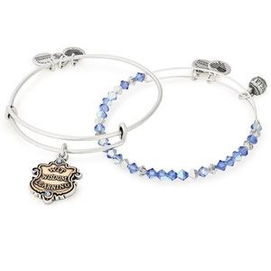 Alex and Ani Harry Potter Ravenclaw Bangles Duo